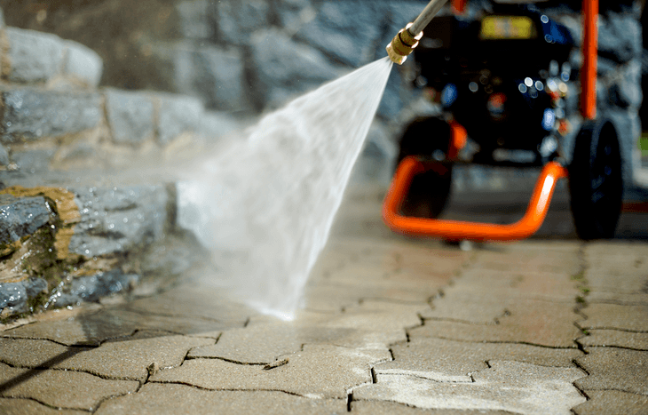 A gas pressure washer is more powerful than its electric counterpart