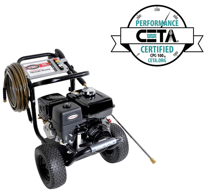 Among the 7 best gas pressure washers