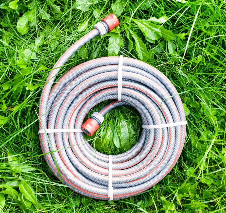 A garden hose is not suitable for high-temperature and high PSI level pressure washing that a pressure washer hose can easily handle.