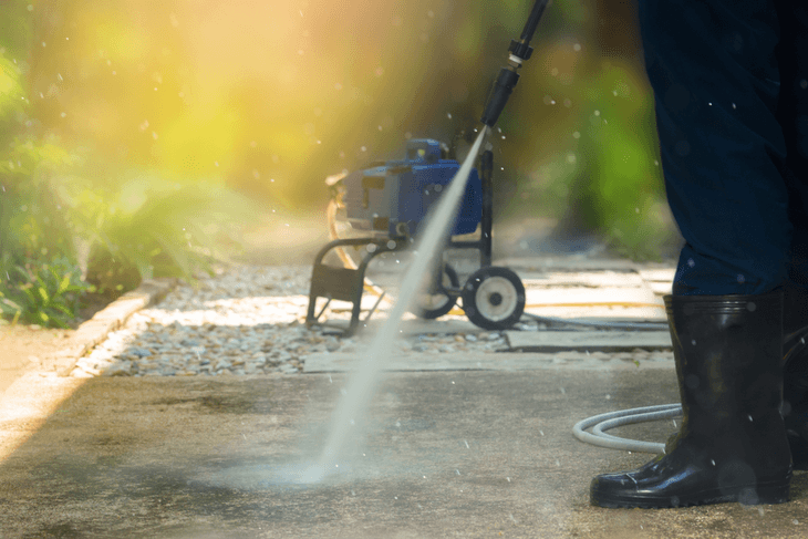 A cold pressure washer is a great investment for your home