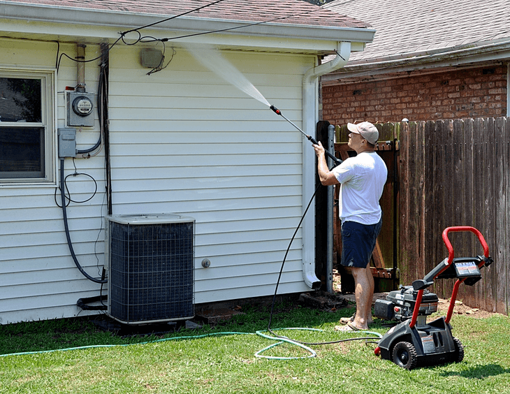 Knowing the right pressure washer for the job also helps you decide the best nozzle tip to use