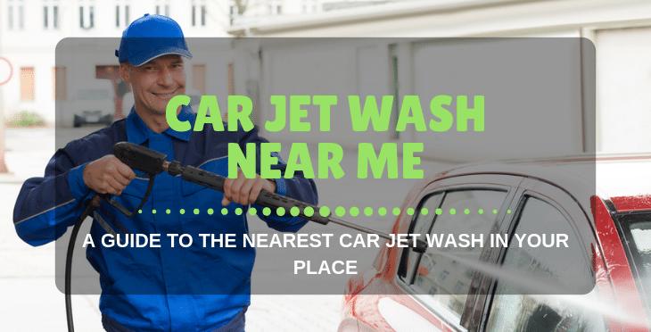 car jet washer near me