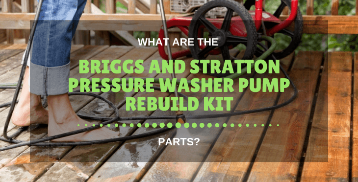 Briggs And Stratton Pressure Washer Pump Rebuild Kit
