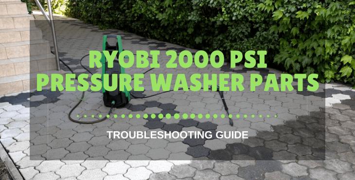 Ryobi 2000 PSI Pressure Washer Parts