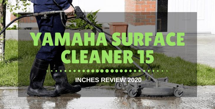 Yamaha surface cleaner 15