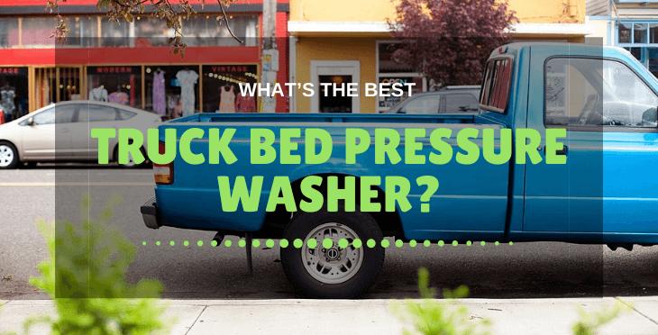truck bed pressure washer